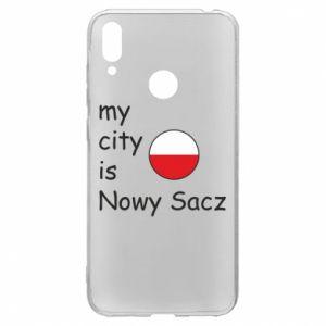 Huawei Y7 2019 Case My city is Nowy Sacz