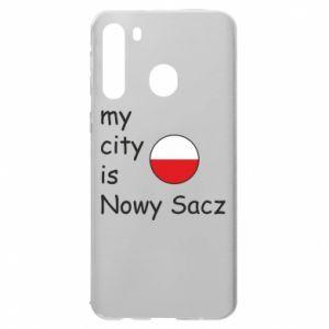Samsung A21 Case My city is Nowy Sacz