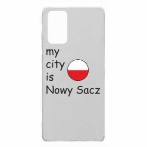 Samsung Note 20 Case My city is Nowy Sacz
