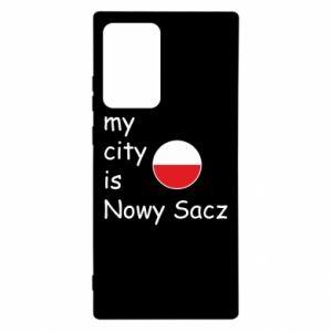 Samsung Note 20 Ultra Case My city is Nowy Sacz
