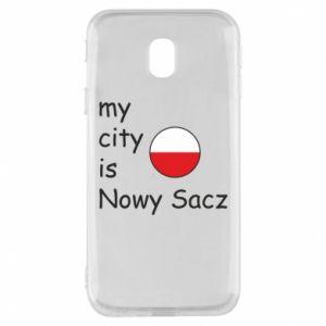 Etui na Samsung J3 2017 My city is Nowy Sacz