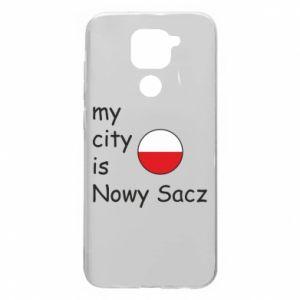 Xiaomi Redmi Note 9 / Redmi 10X case % print% My city is Nowy Sacz