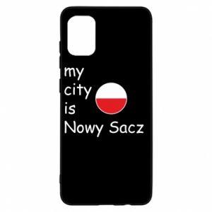 Samsung A31 Case My city is Nowy Sacz