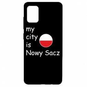 Samsung A51 Case My city is Nowy Sacz