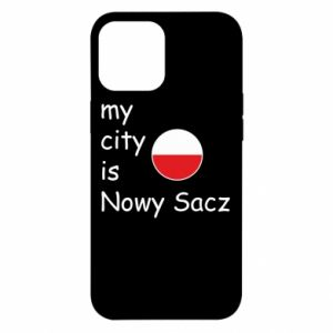 iPhone 12 Pro Max Case My city is Nowy Sacz