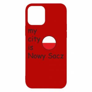 iPhone 12/12 Pro Case My city is Nowy Sacz