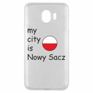 Etui na Samsung J4 My city is Nowy Sacz
