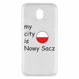 Etui na Samsung J5 2017 My city is Nowy Sacz