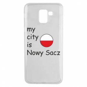 Etui na Samsung J6 My city is Nowy Sacz