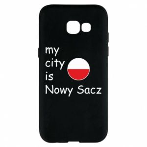 Etui na Samsung A5 2017 My city is Nowy Sacz