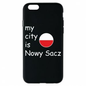 iPhone 6/6S Case My city is Nowy Sacz