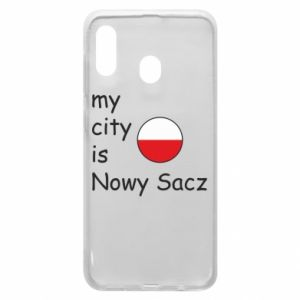 Etui na Samsung A30 My city is Nowy Sacz