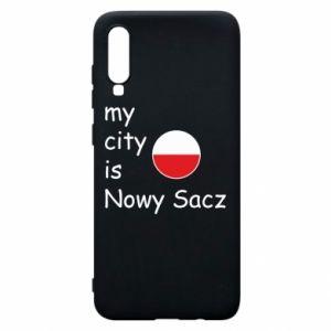 Samsung A70 Case My city is Nowy Sacz