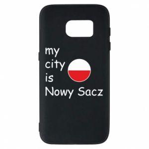 Etui na Samsung S7 My city is Nowy Sacz