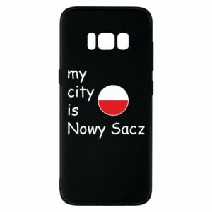 Samsung S8 Case My city is Nowy Sacz