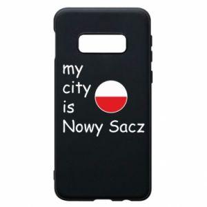 Etui na Samsung S10e My city is Nowy Sacz