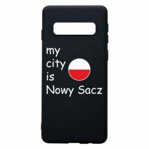 Etui na Samsung S10 My city is Nowy Sacz