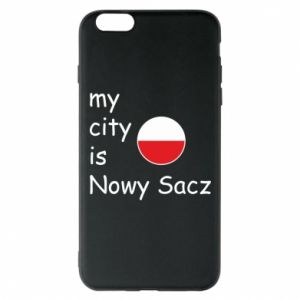 iPhone 6 Plus/6S Plus Case My city is Nowy Sacz