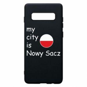 Etui na Samsung S10+ My city is Nowy Sacz