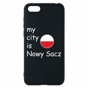 Huawei Y5 2018 Case My city is Nowy Sacz