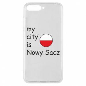Etui na Huawei Y6 2018 My city is Nowy Sacz