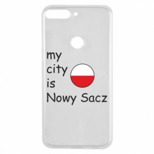 Huawei Y7 Prime 2018 Case My city is Nowy Sacz