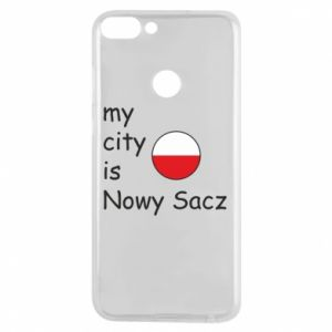 Etui na Huawei P Smart My city is Nowy Sacz - PrintSalon