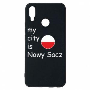 Etui na Huawei P Smart Plus My city is Nowy Sacz