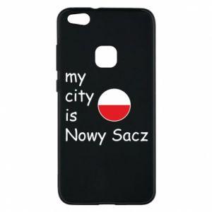 Etui na Huawei P10 Lite My city is Nowy Sacz