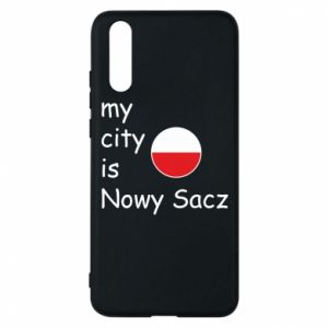 Huawei P20 Case My city is Nowy Sacz