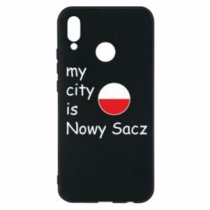 Etui na Huawei P20 Lite My city is Nowy Sacz