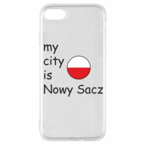 iPhone 7 Case My city is Nowy Sacz