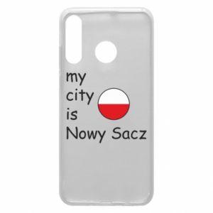 Etui na Huawei P30 Lite My city is Nowy Sacz
