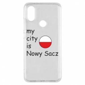 Etui na Xiaomi Mi A2 My city is Nowy Sacz