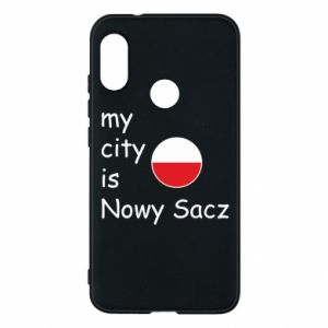 Etui na Mi A2 Lite My city is Nowy Sacz