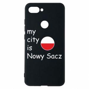 Xiaomi Mi8 Lite Case My city is Nowy Sacz