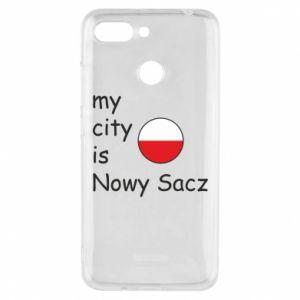 Etui na Xiaomi Redmi 6 My city is Nowy Sacz