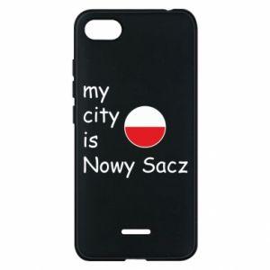 Xiaomi Redmi 6A Case My city is Nowy Sacz