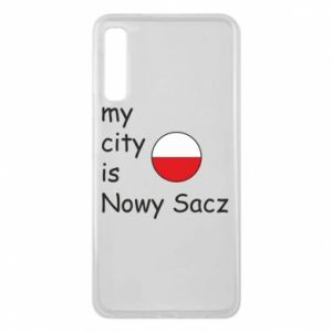 Etui na Samsung A7 2018 My city is Nowy Sacz