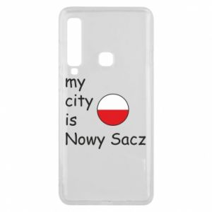Etui na Samsung A9 2018 My city is Nowy Sacz