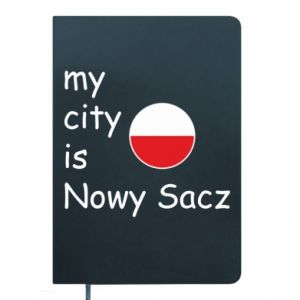Notepad My city is Nowy Sacz