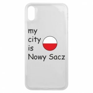 iPhone Xs Max Case My city is Nowy Sacz