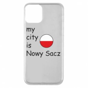 iPhone 11 Case My city is Nowy Sacz