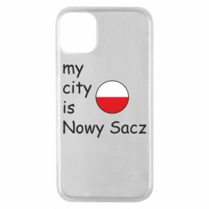 iPhone 11 Pro Case My city is Nowy Sacz