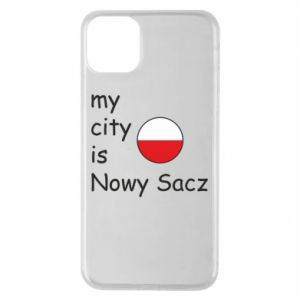 iPhone 11 Pro Max Case My city is Nowy Sacz