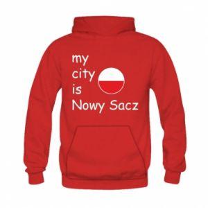 Kid's hoodie My city is Nowy Sacz