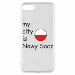iPhone 8 Case My city is Nowy Sacz