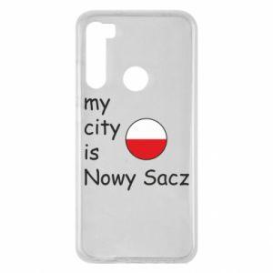 Xiaomi Redmi Note 8 Case My city is Nowy Sacz