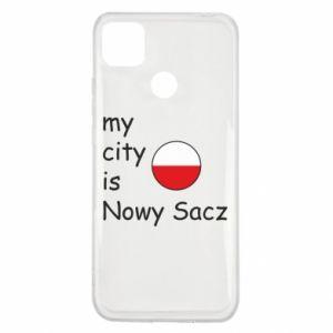 Xiaomi Redmi 9c Case My city is Nowy Sacz