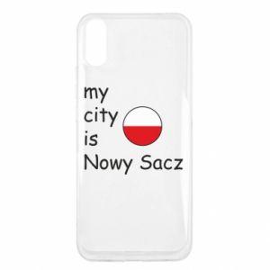 Xiaomi Redmi 9a Case My city is Nowy Sacz